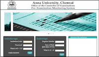 Anna university student login with coe1.annauniv.edu