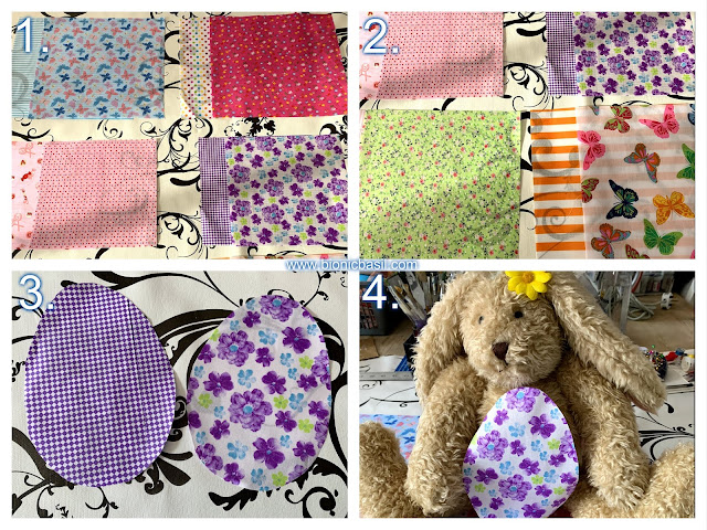 Crafting with Cats Easter Special ©BionicBasil® Catnip Easter Eggs Steps 1 - 4