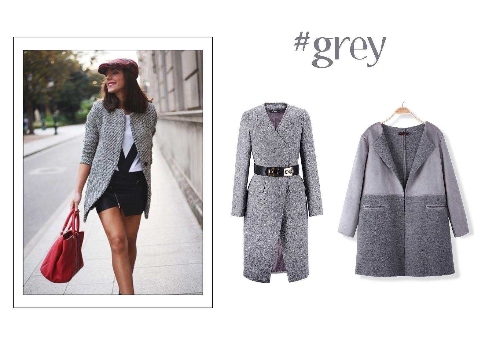 saldi sales shopping guide banged coat cappotti grey pastels camel burgundy  white pastello fur trend glamour 2293991fa03