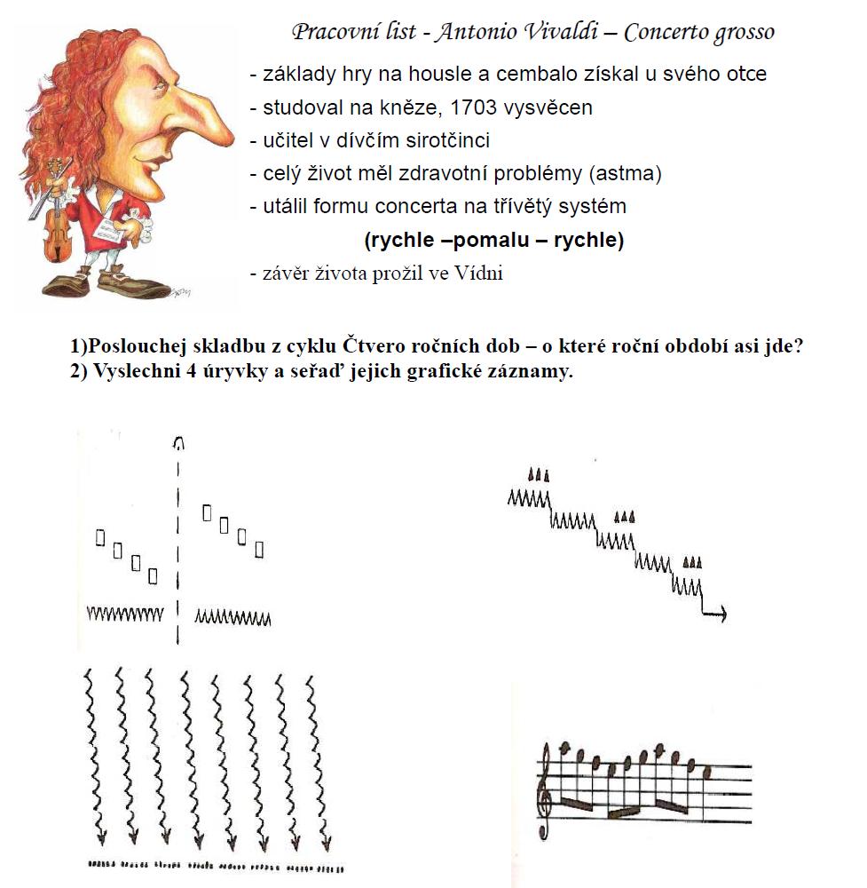 Jak Na Hudebku A Vivaldi Ctvero Rocnich Dob Aneb Zase Jeden