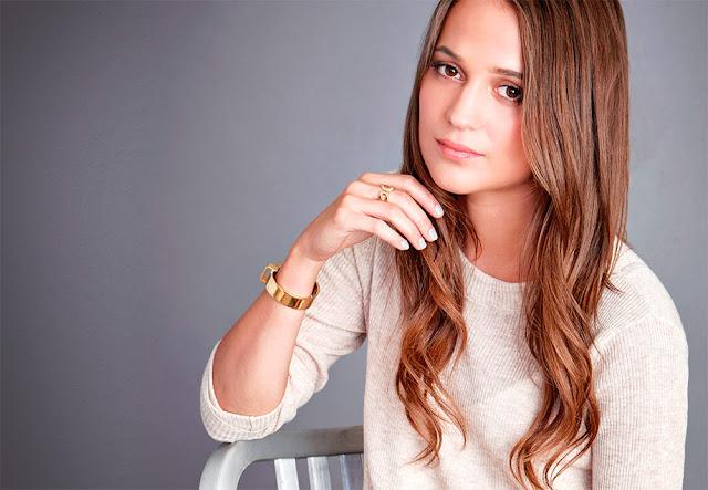 A Atriz de A Garota Dinamarquesa ganhou um Oscar por sua atuação no filme de Tom Hooper e promete fazer de Lara uma heroína para recordar durante muito tempo.
