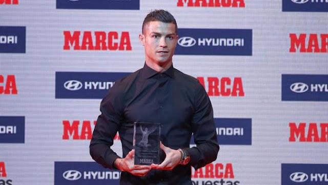 Cristiano Ronaldo foi eleito o melhor jogador de La Liga 2015-2016