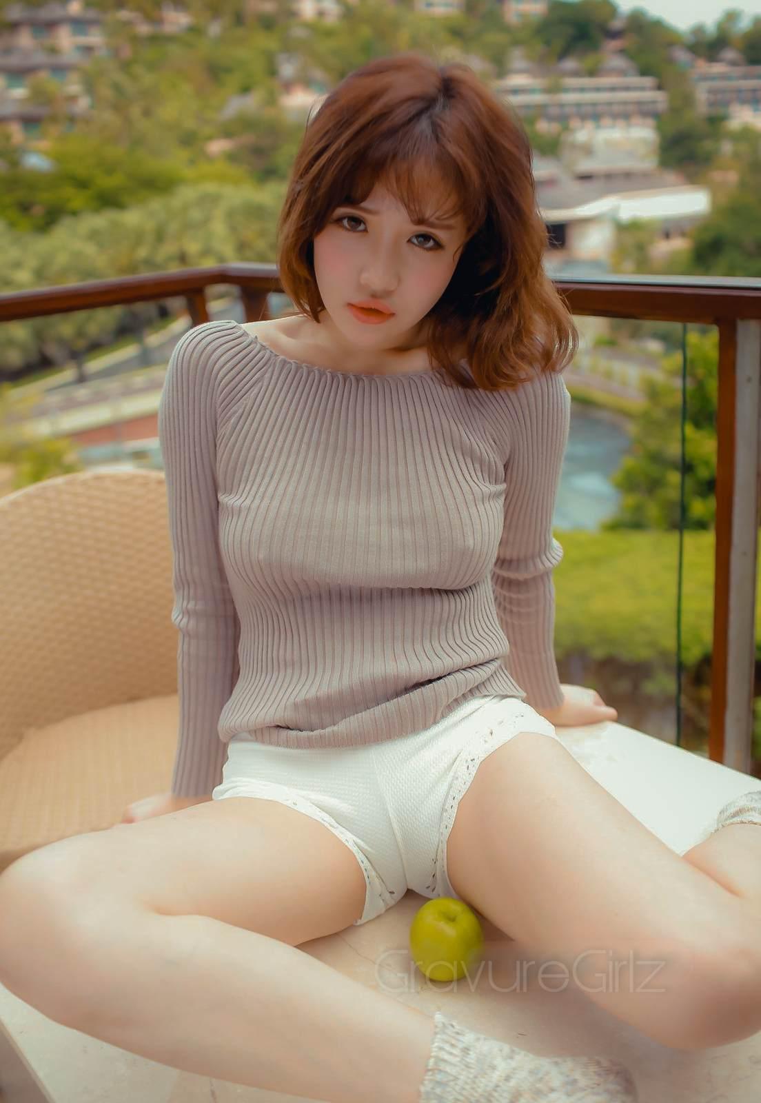 Xu Cake徐 |Nipples Underboob | MFStar模范学院 VOL.059 | Page 2 ...