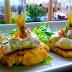 Gastronomía Amazónica: Patacones con tiradito de pejerrey