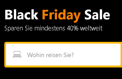 Booking.com Black Friday Sale   23-27.11 2018