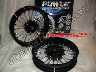 Foto Velg Power Racing Type model Andong/Dokar