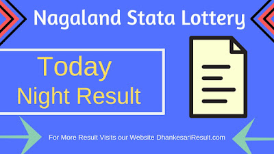 Nagaland State Lottery Result 03/04/2019 Dear 8 Pm Result Download