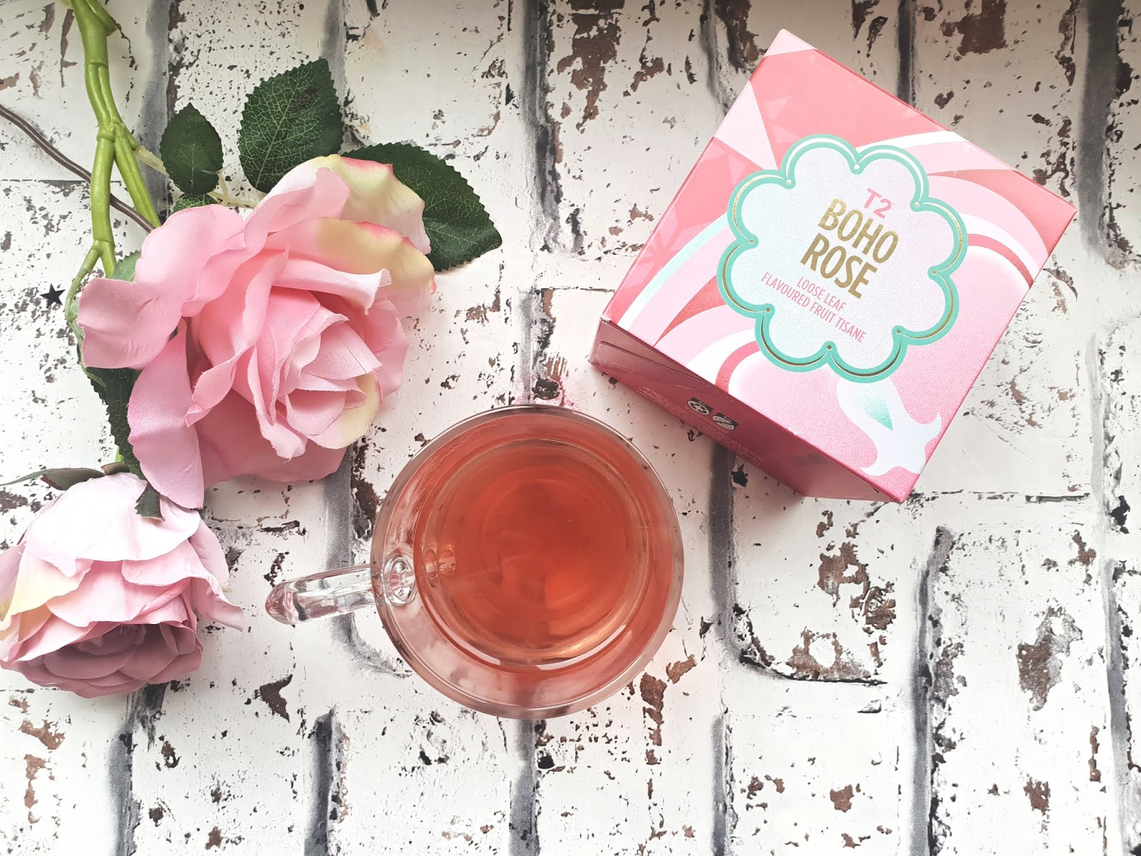 T2 Tea Boho Rose Loose Leaf  Review