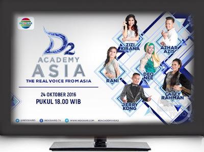 D'Academy Asia 2 ( D'AA 2) Grup A Babak 36 Besar Senin dan Selasa 24-25 Oktober 2016