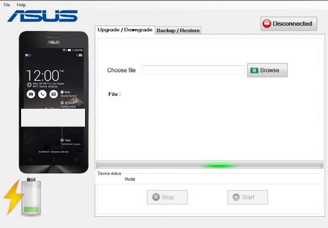 Cara Download Asus Zenfone Flash Tool (Semua Versi) - Update Firmware Telepon