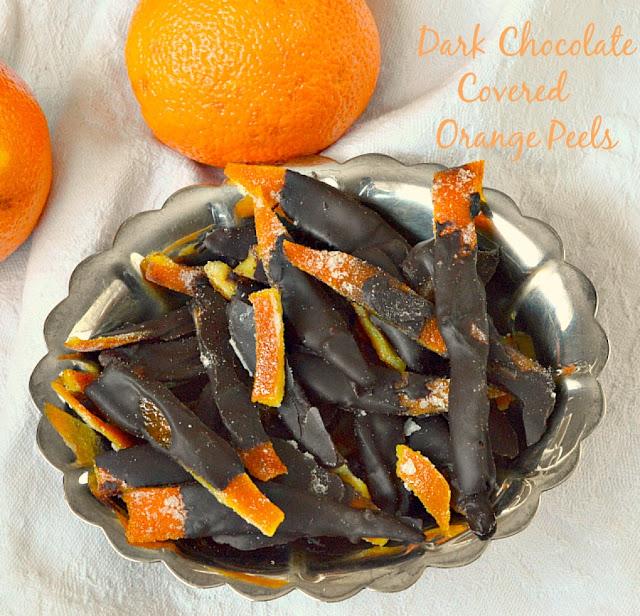 Dark Chocolate Covered Orange Peel