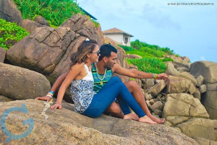 Our Lanka: Narmada Abeywardene with Boy Friend ???