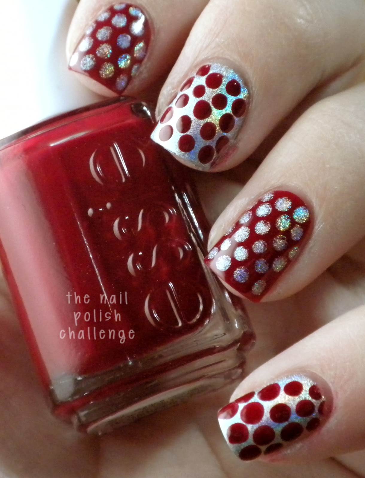 31dc2012 Day 10 Gradient Nails: Kelli Marissa: 31DC2012 Day 1: Red Nails