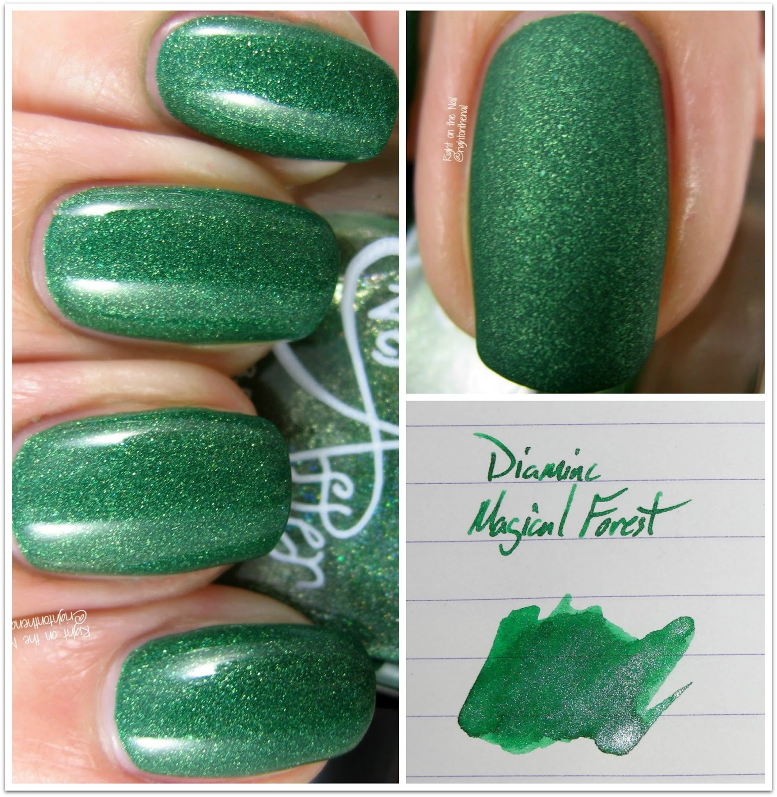 Right on the Nail: Nibs & Nails Presents Ever After Polish in Forest ...
