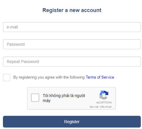 Đăng ký Bitbase
