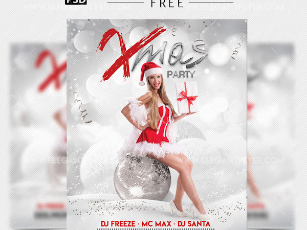 Download Xmas Party – Flyer in PSD Free