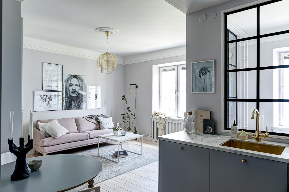 Pareti Color Oro Camera Da Letto : Pareti vetrate per dividere la camera da letto dal salotto