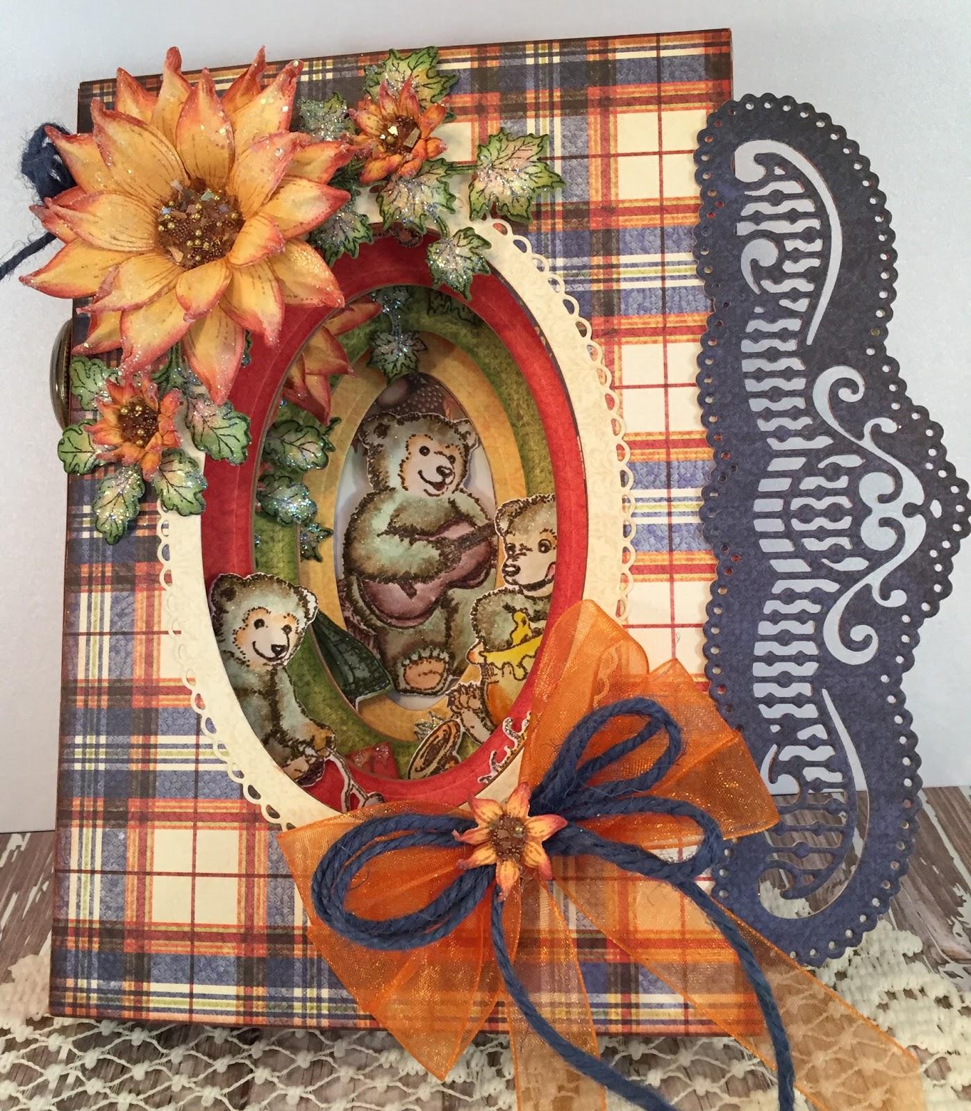 Heartfelt Creations Spellbinders Die ~ HAPPY TIME TREEHOUSE ~ HCD1-7152