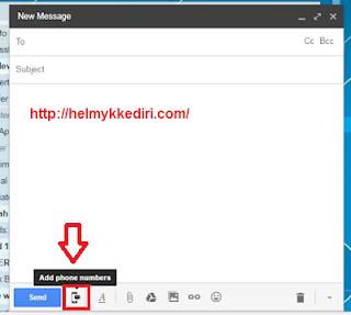 Mengirim pesan SMS lewat Gmail3