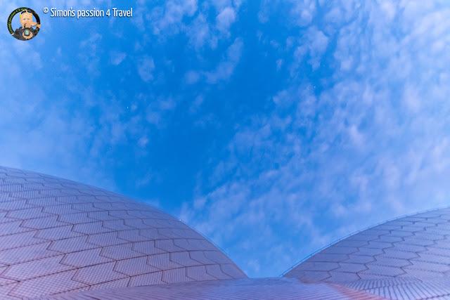 Sydney opera House tetto