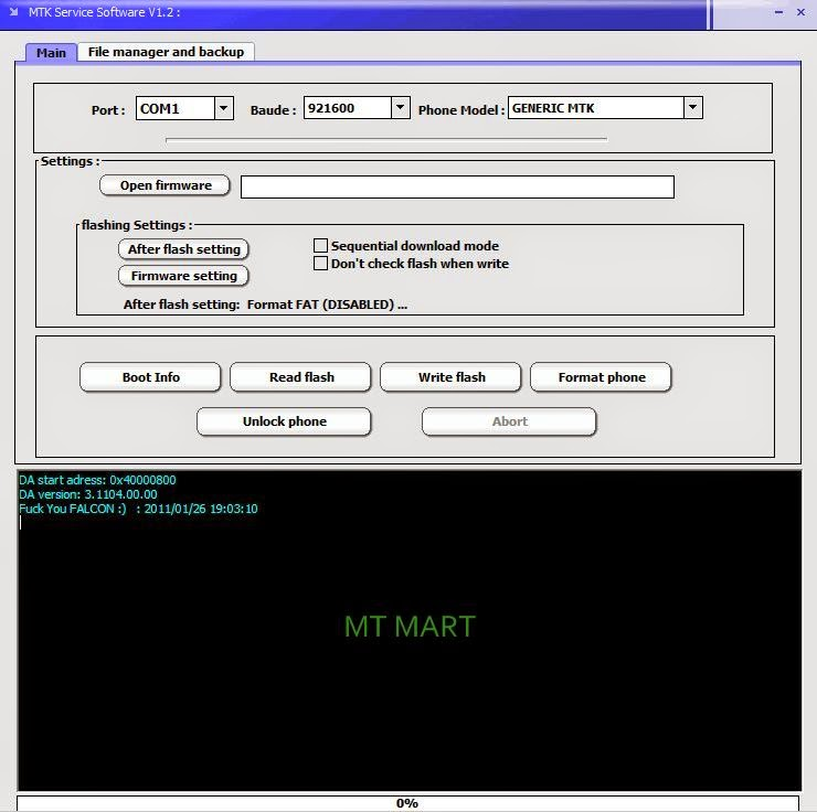 Free download Service Tool Mx377