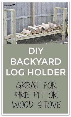Log holder pinterest pin