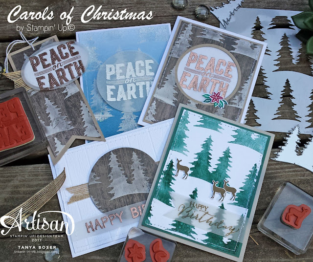 Want a sneak peek of the gorgeous Carols of Chrismas stamp set and thinlits bundle? Check out the three ways you can get it for yourself!