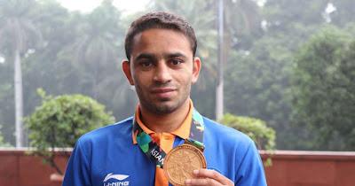 Amit Panghal Wins Gold at Asian Boxing Championships
