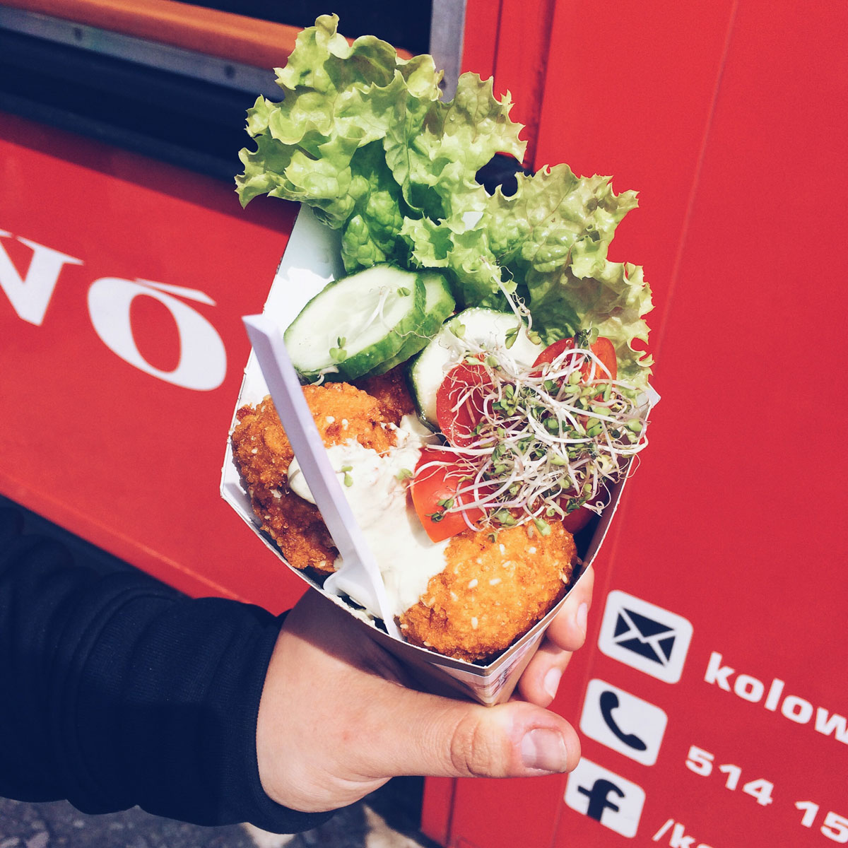 Food truck Kołowóz i ich ser kulla.
