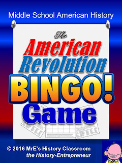 https://www.teacherspayteachers.com/Product/HISTORY-The-American-Revolution-BINGO-game-2592554