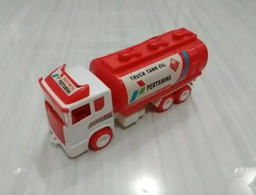 gambar truk pertamina miniatur