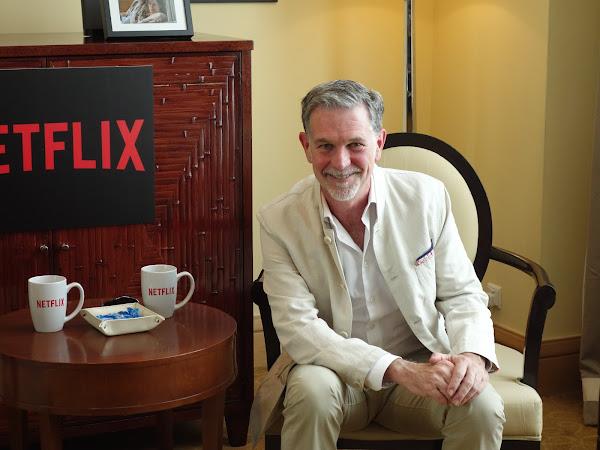 Netflix共同創辦人暨執行長里德‧海斯汀Reed Hastings