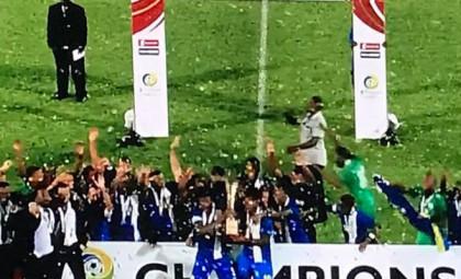La selección de Futbol de Curazao campeón de la Copa del Caribe 2017