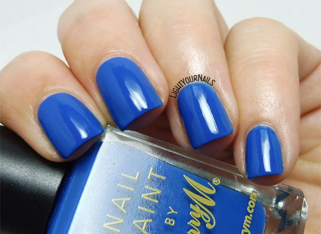 Smalto Barry M Cobalt Blue nail polish