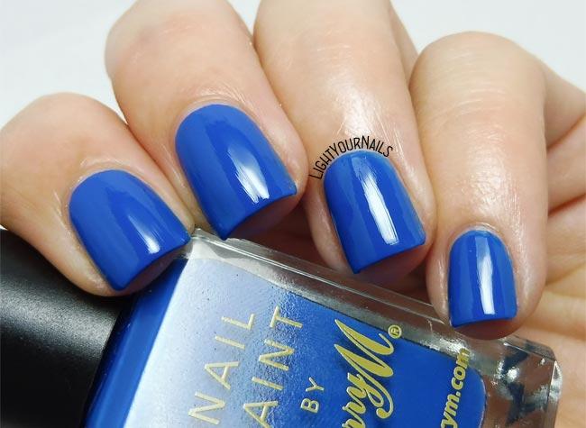 Smalto Barry M Cobalt Blue nail polish