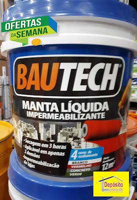 Manta Líquida Bautech 12kg R$ 233,00
