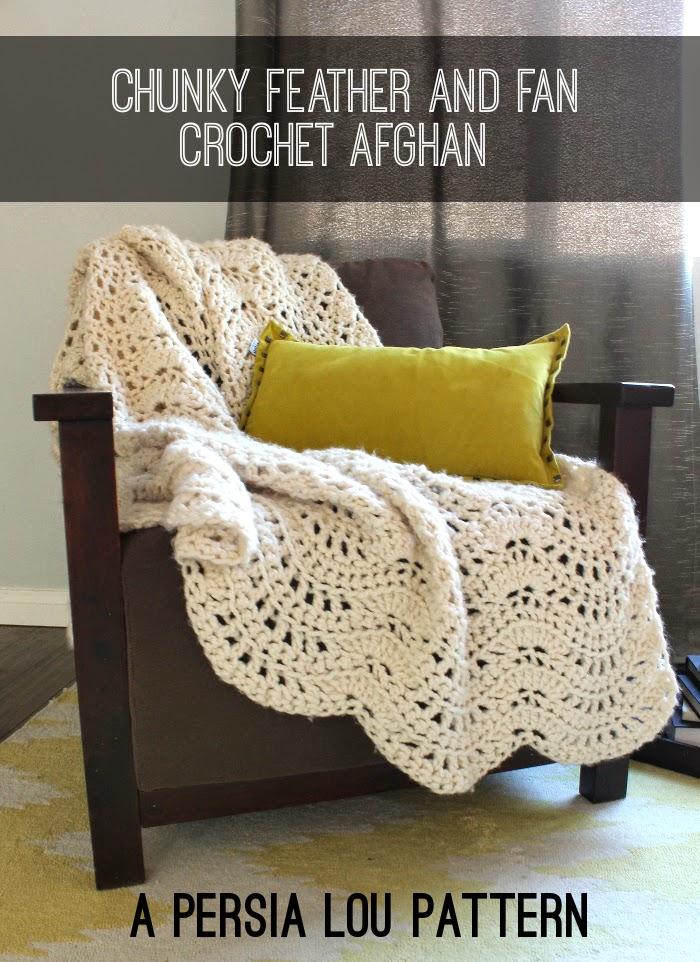 Mes favoris tricot crochet mod le gratuit un plaid au crochet - Modele plaid tricot gratuit ...