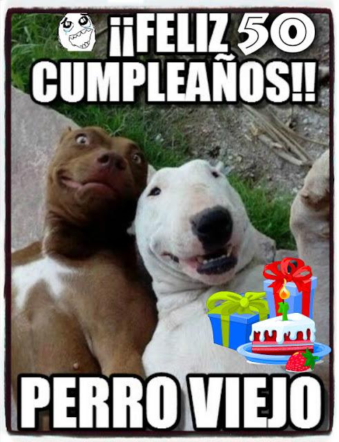Imágenes Feliz 50 cumpleaños humor