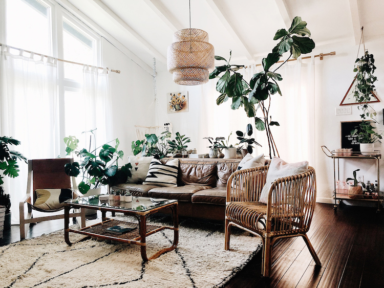 My Scandinavian Home A Relaxed Boho Family Home On The Edge Of A Desert