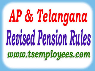 AP Telangana Revised Pension Rules latest pension rules THE ANDHRA PRADESH REVISED PENSION RULES 1980 types of pension Superannuation pension Retiring or Voluntary invalid pension Compensation Pension Compulsory retirement pension  Compassionate Allowance Provisional pension Anticipatory service pension  G.O. Ms.No.186 Dt.24-05-2010 Anticipatory Family Pension  Qualifying Service / Minimum Service for Pensionary Benefits  G.O.Ms. No. 178 Fin. Dept. dt:- 17-5-2010.  Minimum service required for getting Pensionery benefits 10 years on attaining the age of 58 years / 60 years (including weightage i.e 5+5=10) Minimum service required for getting Gratuity :-5 years Maximum service counts for Pensionery benefits := 33 years Maxium limit of Retirement Gratuity from Rs.8,00,000/- to Rs.12,00,000/ vide TS GO.Ms.No.99, Dated: 21-07-2015 and AP G.O.MS.No. 6 dated 11-01-2016 A fraction of year : 3 months or more be treated as 1 half year. Pension Rounded up to next higher Rupee. Death Relief (Obsequies charges) for Service Pensioners: Rs.20,000/- or One Month pension which ever is Higher as per Telangana GO.Ms.No.101, dt: 21.07.2015 Maximum Stagnation increments under PRC-2010: 3 Increments (counts for Pensionary Benefits) Rate of Stagnation increments are payable: Higher rate (Next stage of the Basic Pay)Medical Allowance w.e.f 02.06.2014 @ Rs.350/- P.M. for all Service & Family Pensions.  Go.Ms.No.100 dt: 21.07.2015 Minimum Pension A COMPLETE RULES AND INSTRUCTIONS AP Telangana Revised Pension Rules AP Telangana Revised Pension Rules