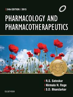 Pharmacology and Pharmacotherapeutics- Satoskar - 24th Edition