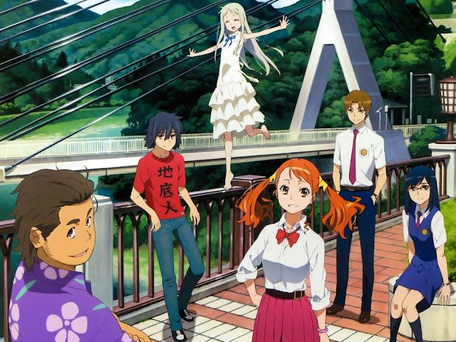 Download OST Opening Ending Anime AnoHana Full Version