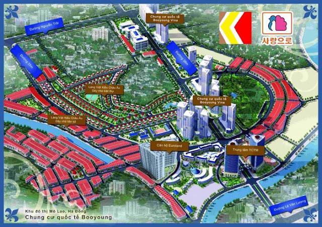 Cần bán căn góc Đông Nam chung cư Booyoung Vina khu đô thị Mỗ Lao