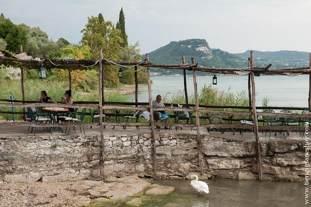 Punta Vigilio paisaje Lago di Garda