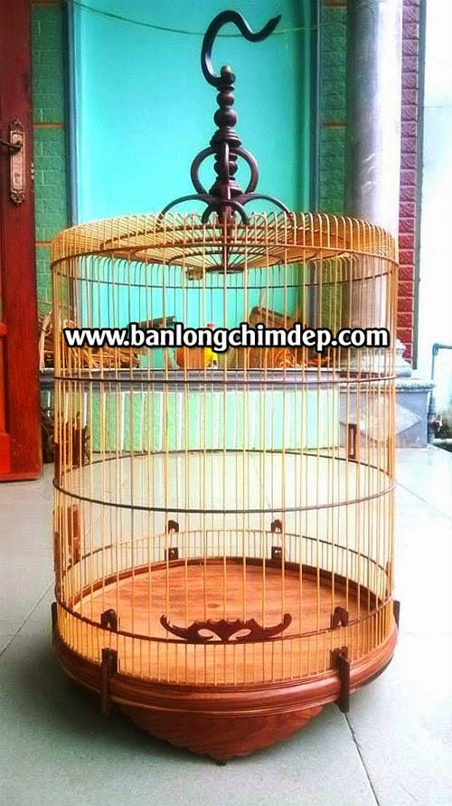 Lồng chim biên hòa gỗ cẩm