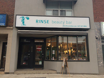 Rinse Beauty Bar review manicure