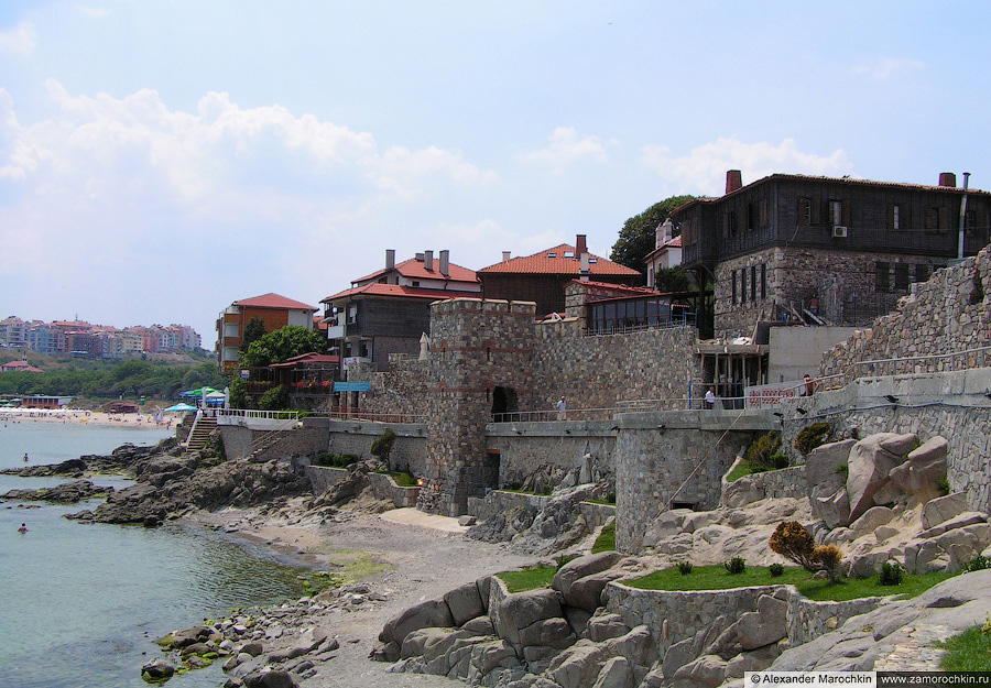 Южная крепостная стена Созополя    South Fortress Wall of Sozopol