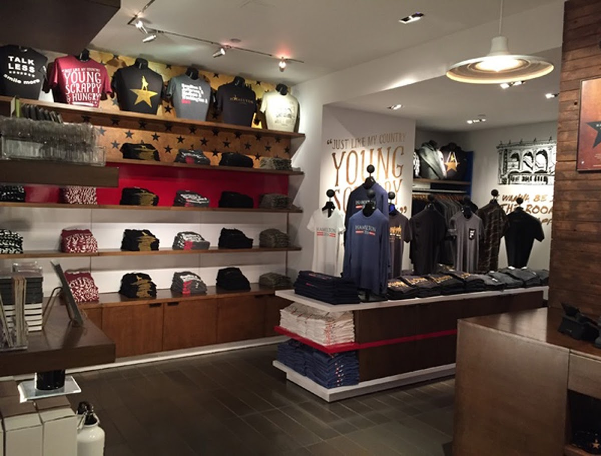 photo of the merchandise inside the Hamilton store