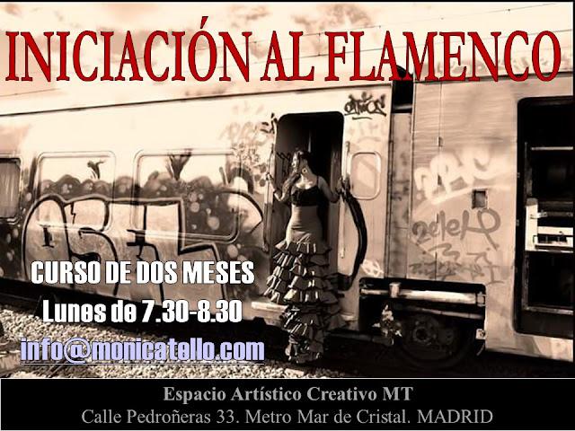 Iniciacion Flamenco. Monica Tello