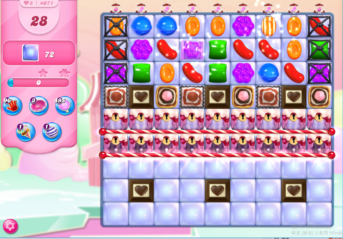 Candy Crush Saga level 4071